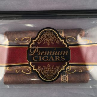 Premium Cigar Slider lock Bag