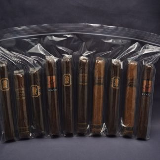 10 Compartment Zipper Lock Cigar Bag 2 MIL (case of 1000)
