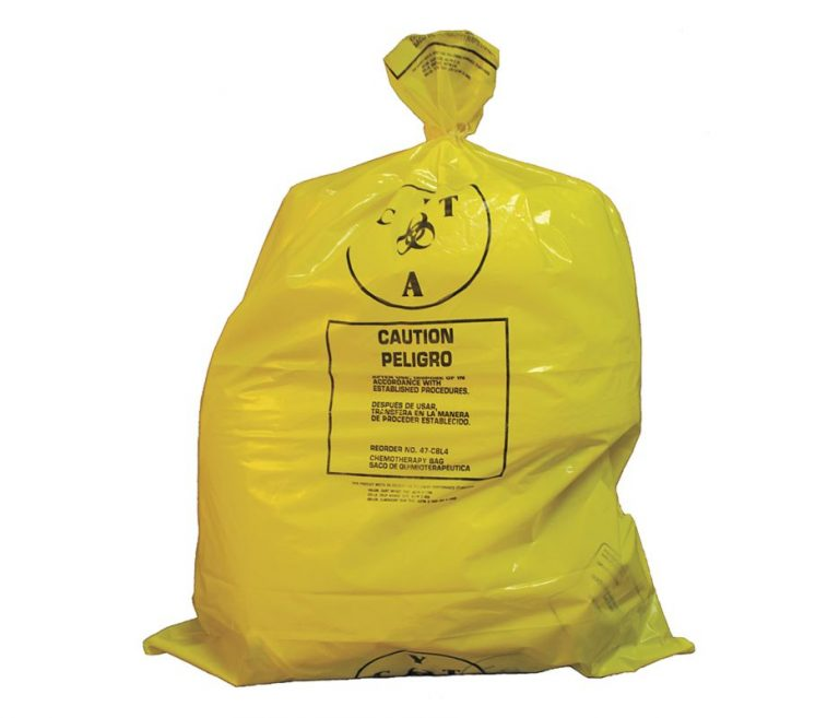 Chemotherapy Waste Bags 31 x 41 – Case of 100