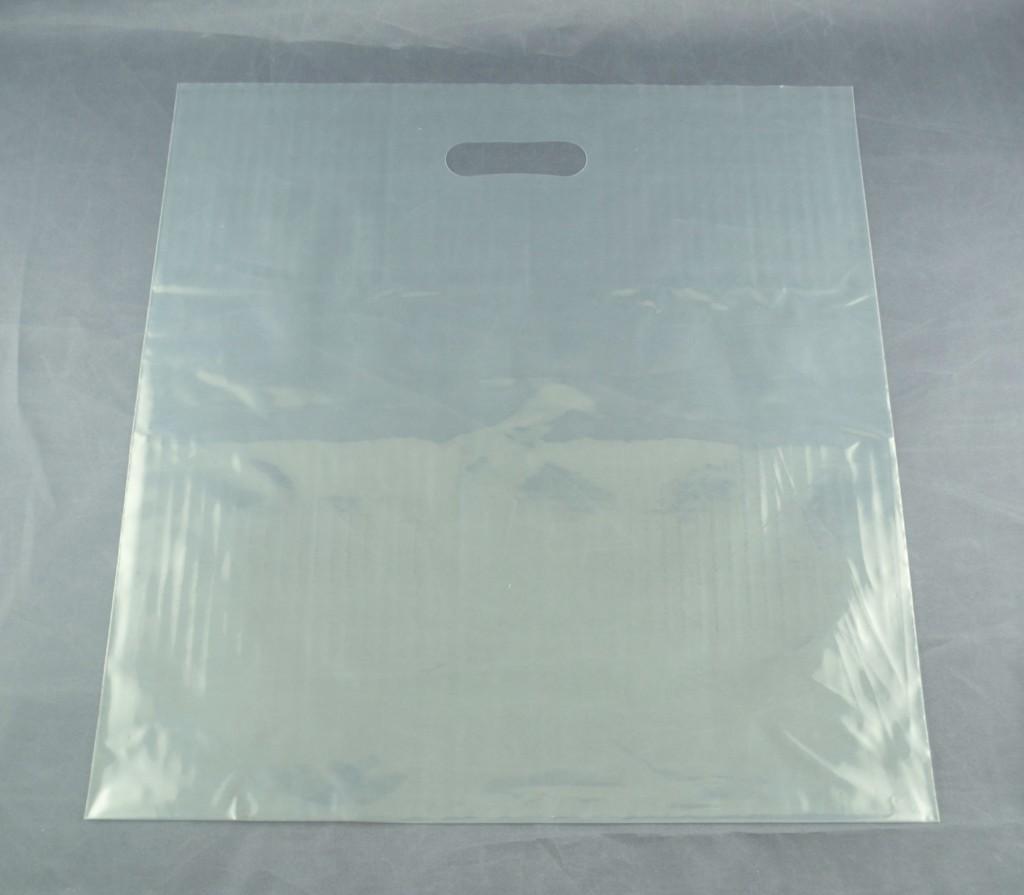 Die Cut Clear Carrier Bag – Box of 1000