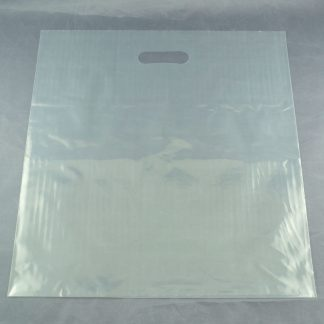 Die Cut Clear Carrier Bag – Box of 1000