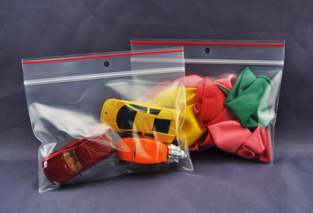 Redline Reclosable Zipper Lock Bag 6mil