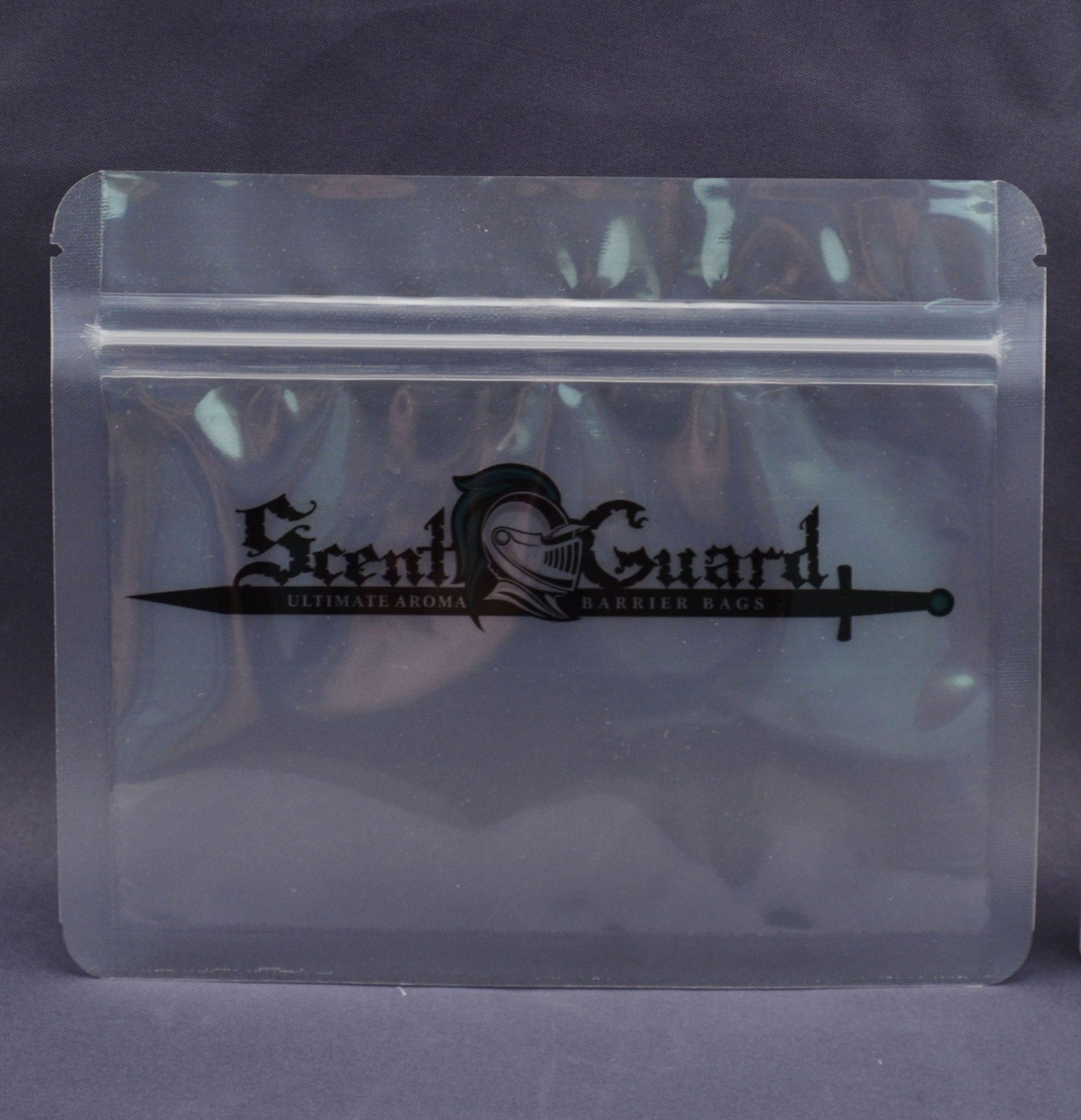 Scent Guard Reclosable Zip Bags