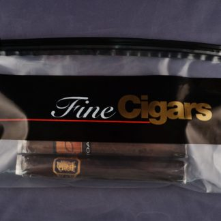 Fine Cigar Slider lock Bag