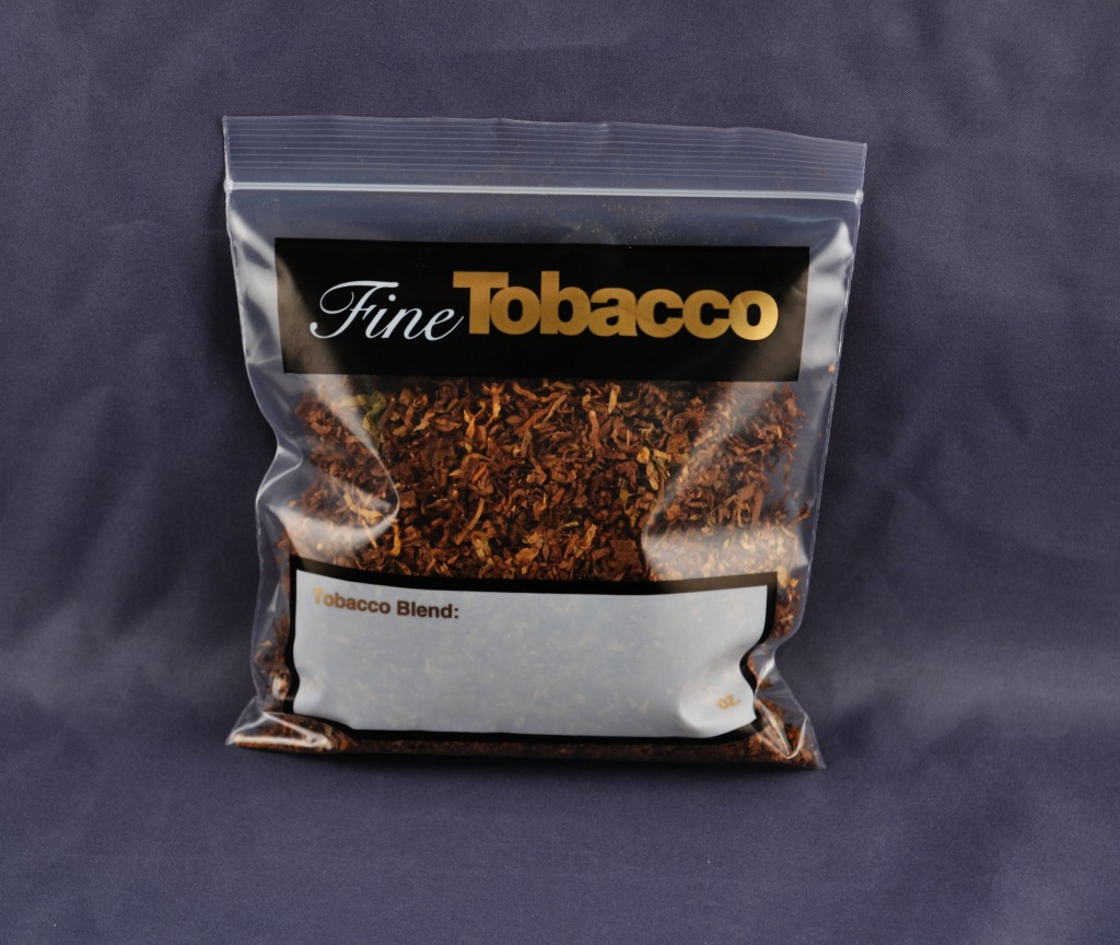 Fine Tobacco Reclosable Zipper Bags – Box of 100
