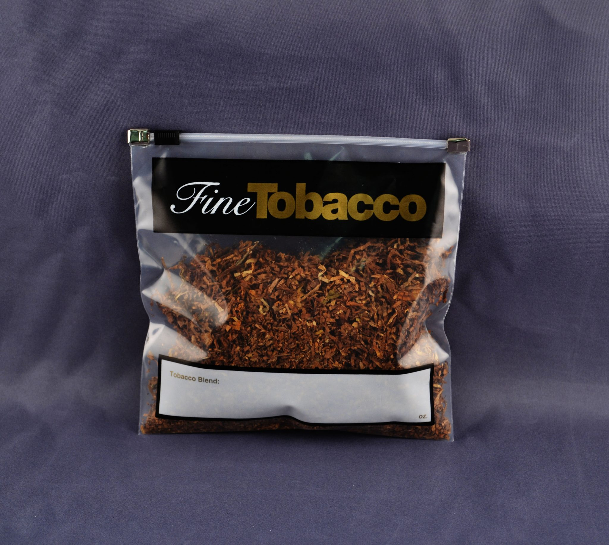 Fine Tobacco Slider Bags – Box of 100