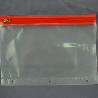ZIPAFILE® with plain profile and 3-hole punch bottom