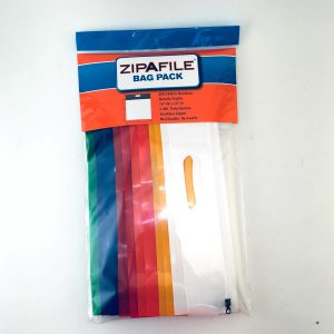 ZIPAFILE® Handle Storage Bags – Box of 10 Retail Packs