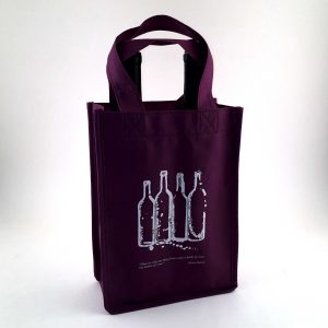 Non Woven 2 Bottle Wine Bag