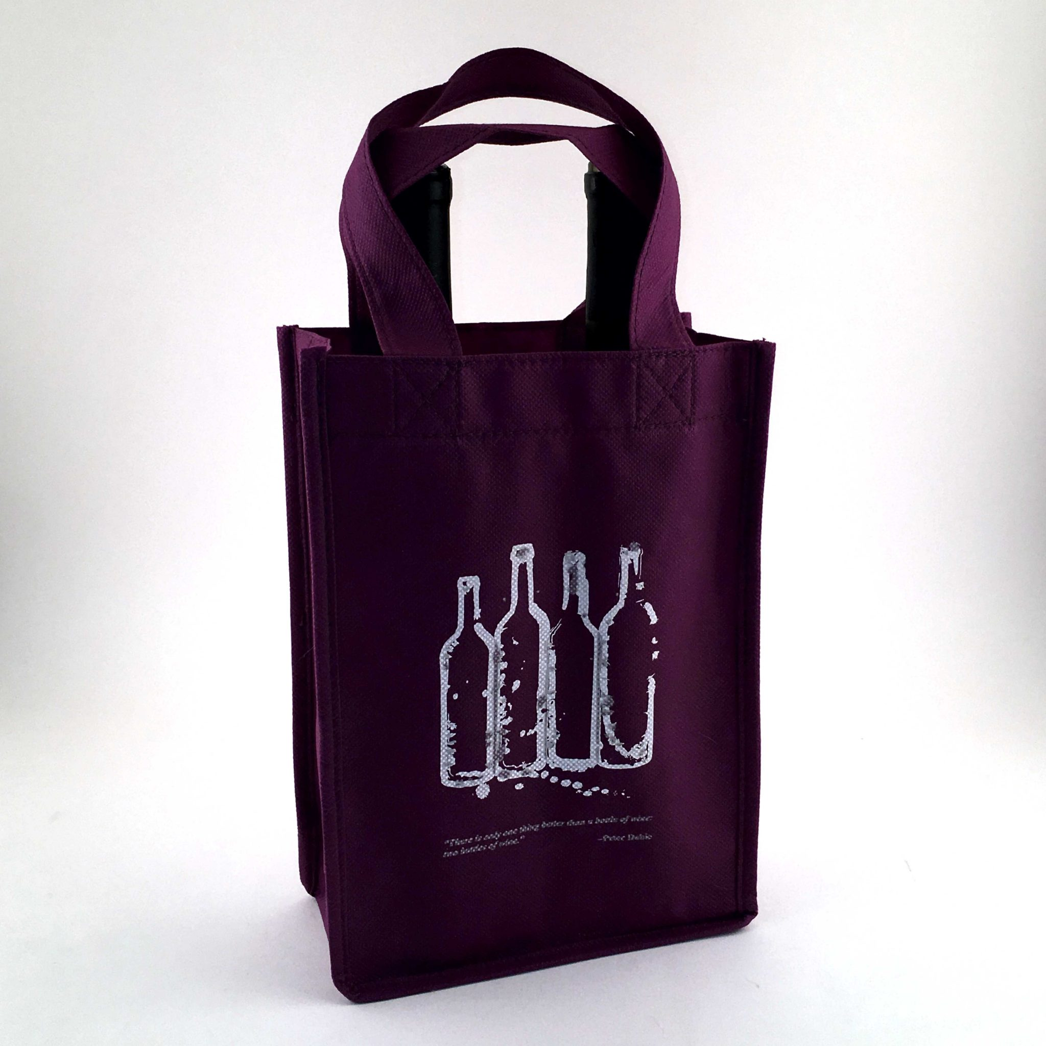 Non Woven 2 Bottle Wine Bag – Case of 100