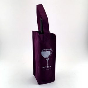 Non Woven 1 Bottle Wine Bag – Case of 100