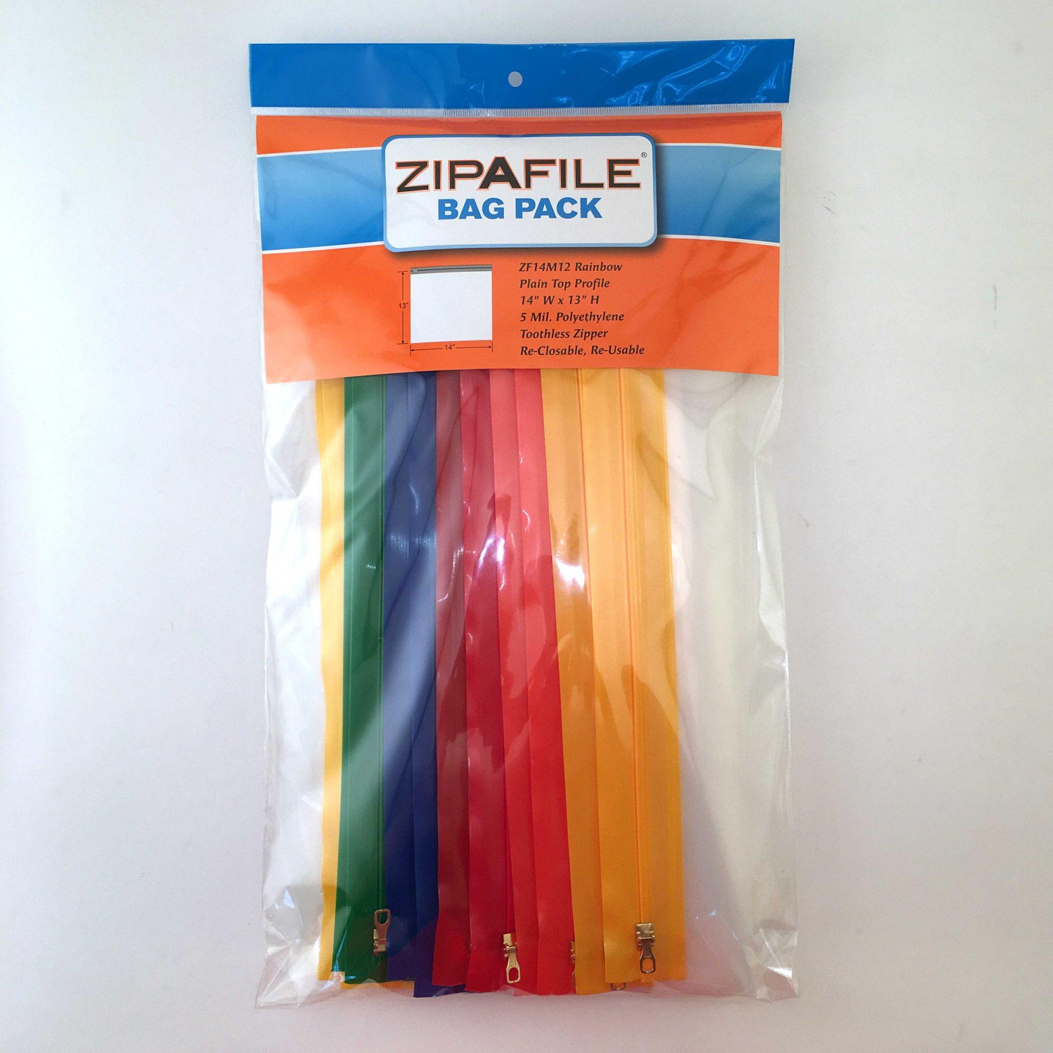 ZIPAFILE® Storage Bags – Box of 10 Retail Packs
